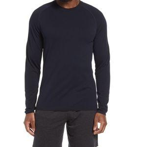 NWT Zella Seamless Long Sleeve Shirt Men's